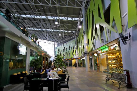 ショッピングモール「キープラザ」